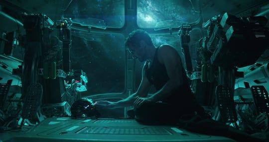 "Tony Stark sends a message home in ""Avengers: Endgame."""