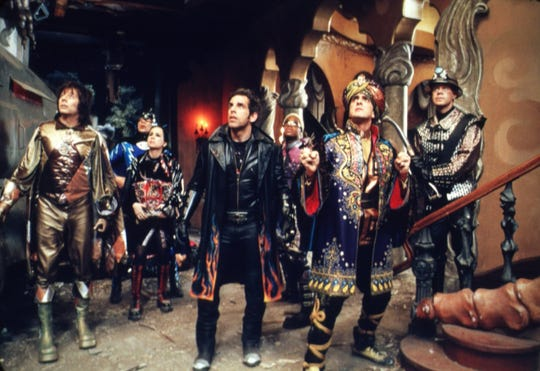 """A group of not-ready-for-prime-time superheroes must save their city in """"Mystery Men."""""""