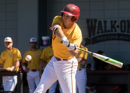 Chad Bell was the first Warhawk off the board, going in the 19th round with the 585th overall pick to the New York Yankees. The senior was the offensive leader for ULM in 2019, setting the single-season school record with 21 home runs. He also ranks second in a single-season with 159 total bases and tied for fourth with 61 RBIs.