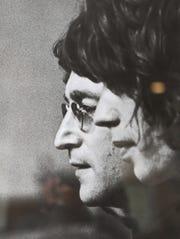 A Ron Galella photograph shows John Lennon. Sunday, April, 21, 2019