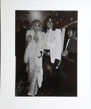 A Ron Galella photograph shows Madonna and Michael Jackson. Sunday, April, 21, 2019
