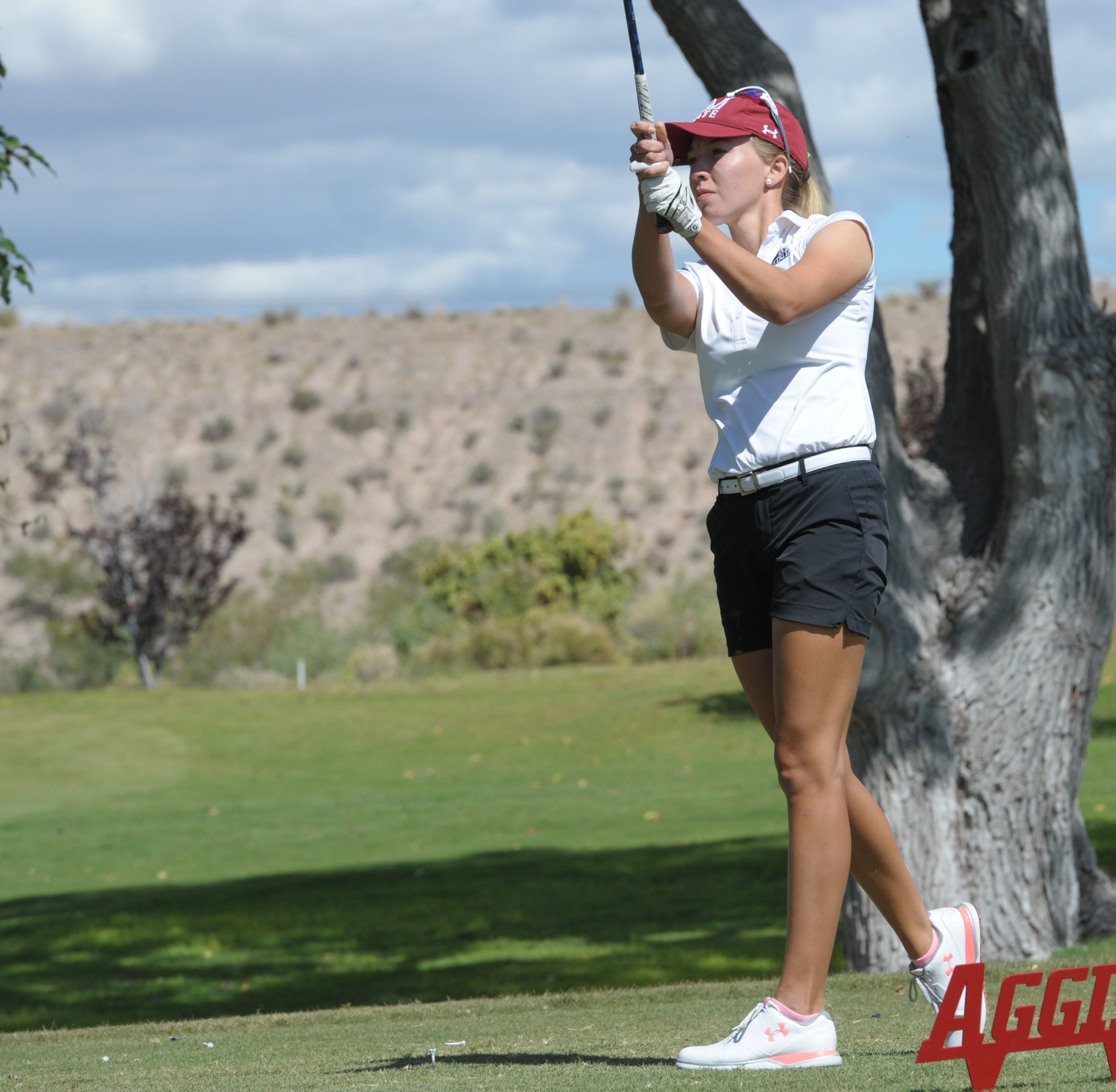 NM State women's golf wins fifth WAC title in six years