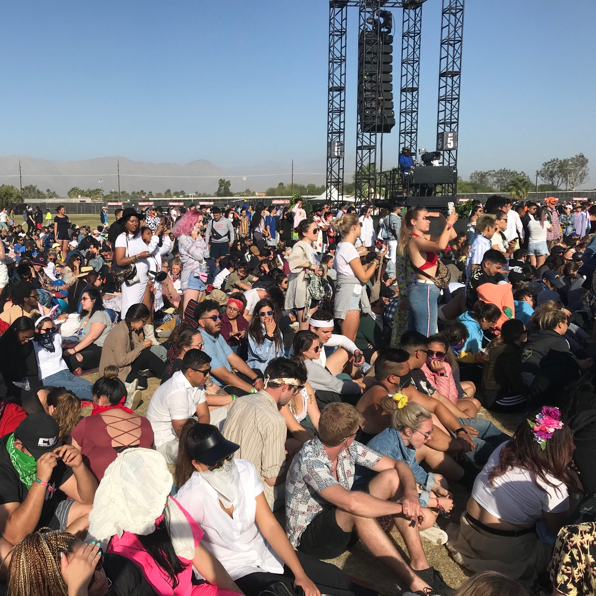 'Jesus Walks' at Coachella in Kanye West's historic Sunday Service