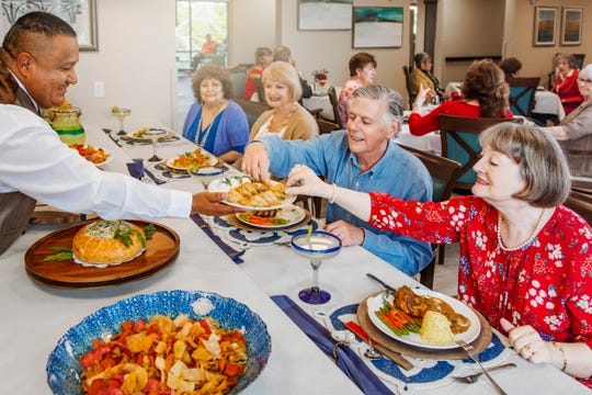 """At The Palazzo, we have great food, great service and we have a lot of variety where there's always plenty of choice,"" said Chuck Karp, Dining Services Director. ""Whether you're here for breakfast, lunch or dinner, we want to make every meal great."""