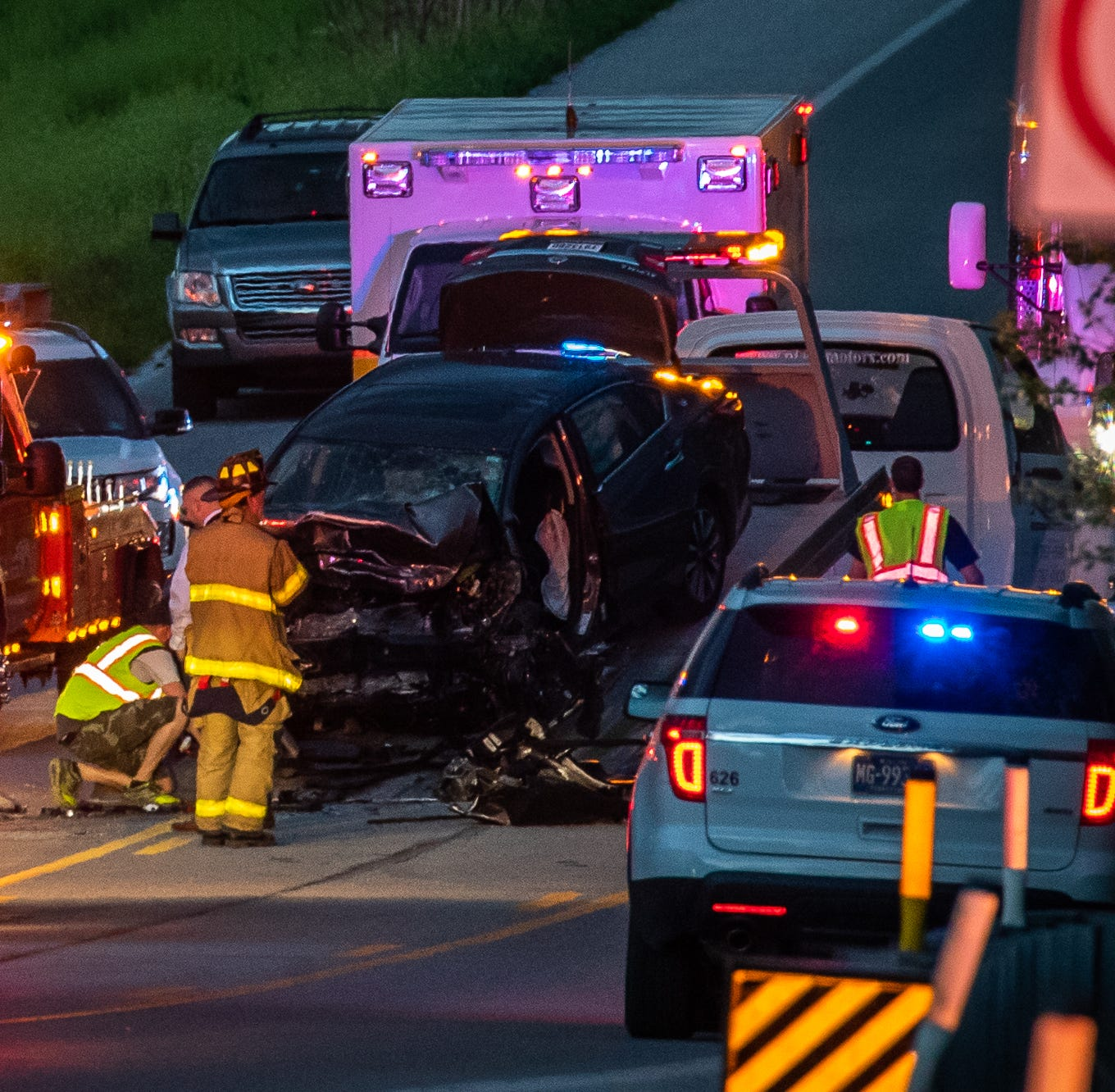 Coroner identifies three people killed in Route 30 crash Saturday