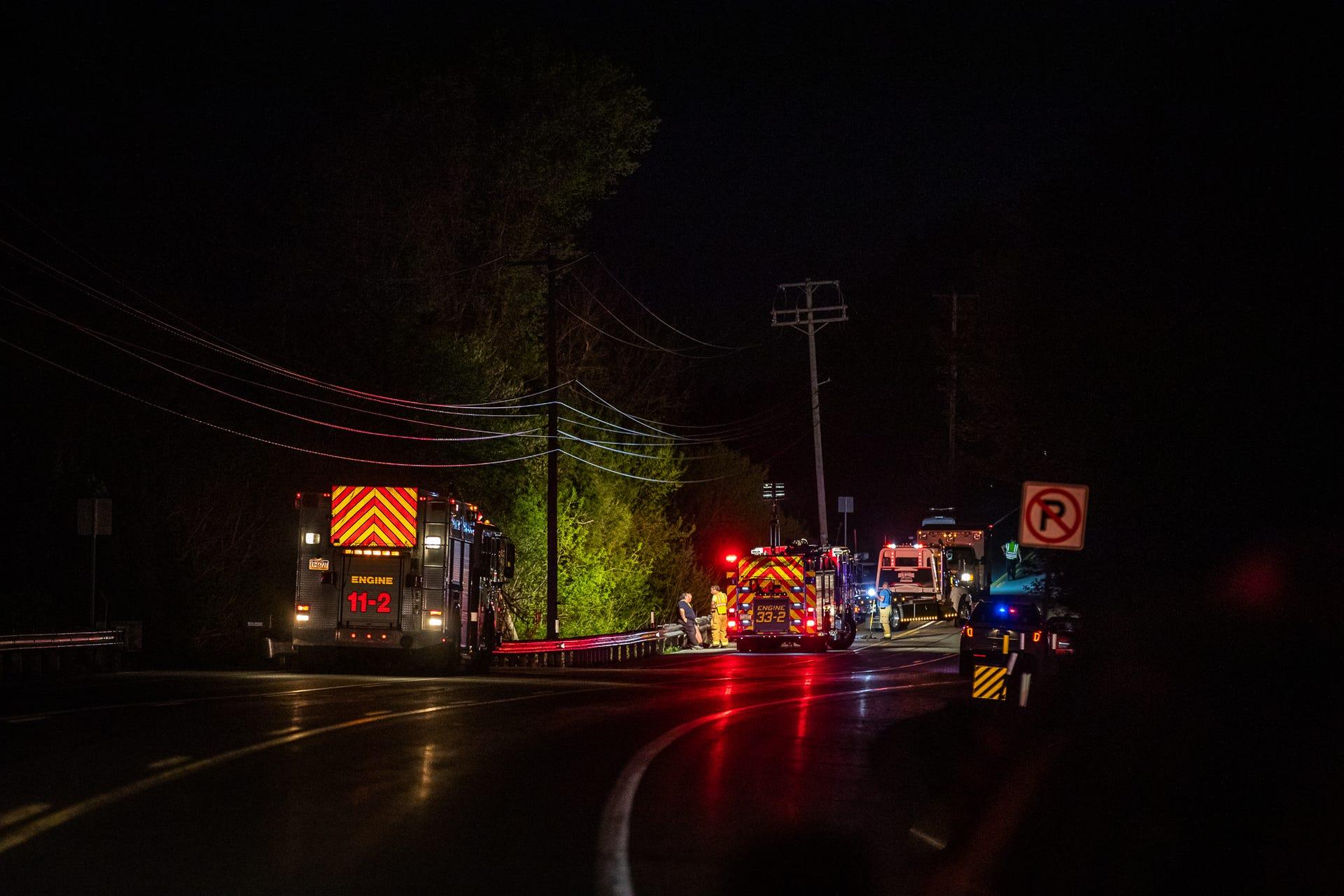 Photos: Fatal crash on Route 30
