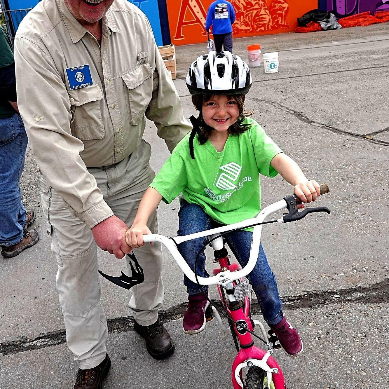 'A need for bike safety': Reno police, firefighters teach kids the rules of the road