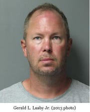 Gerald Lusby Jr., 47, of Selbyville. Courtesy of Delaware State Police.