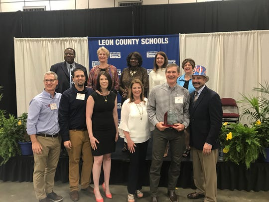 Leon County Schools celebrated the 50th Anniversary of the Leon County Schools Volunteer Program by honoring Tadlock Roofing as an Outstanding Partner for Excellence.