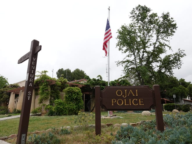 The Ojai Police Department at 402 S. Ventura St.