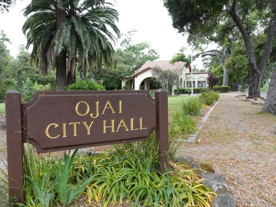 Ojai City Hall at 401 S. Ventura St.