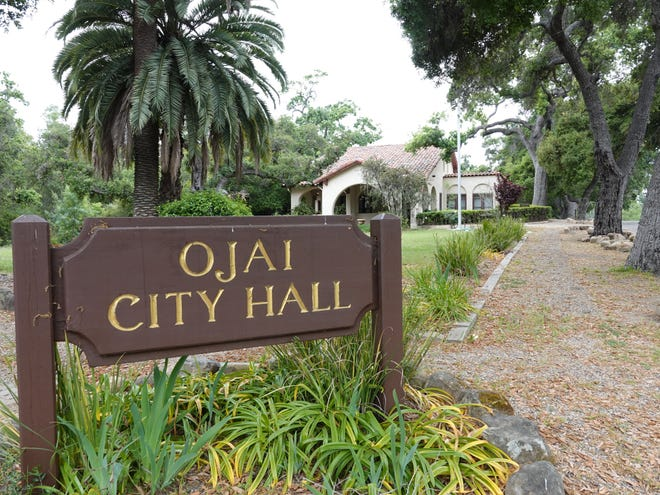 Ojai City Hall at 401 S. Ventura St.