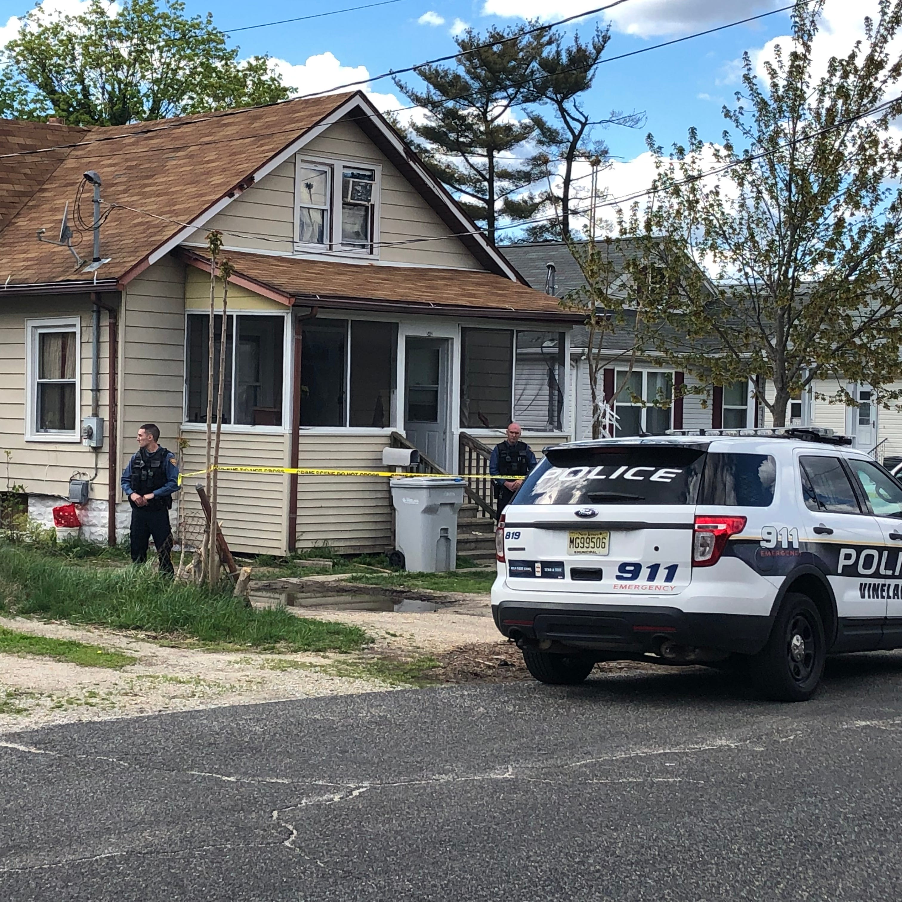 Vineland Police investigation unfolding on Crystal Avenue