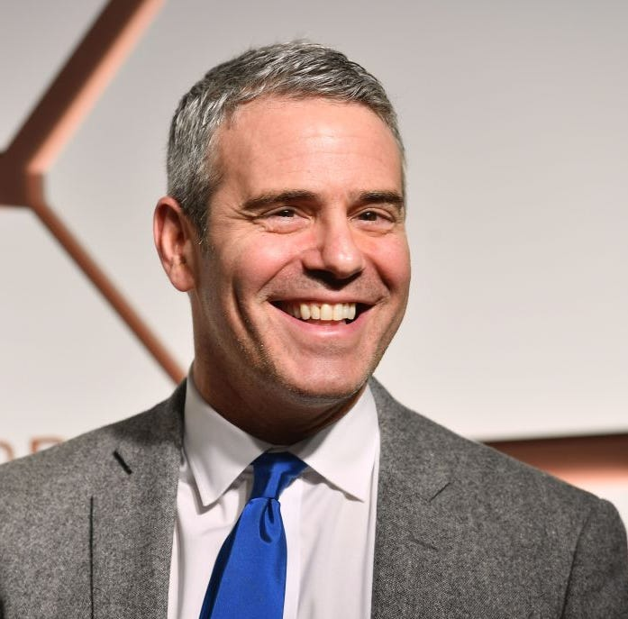 "Andy Cohen, the ""Watch What Happens Live"" host, shared a throw-back photo of himself in a Speedo."