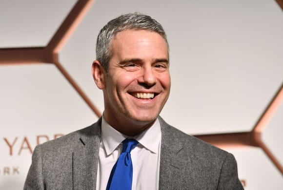 """Andy Cohen, the """"Watch What Happens Live"""" host, shared a throw-back photo of himself in a Speedo."""