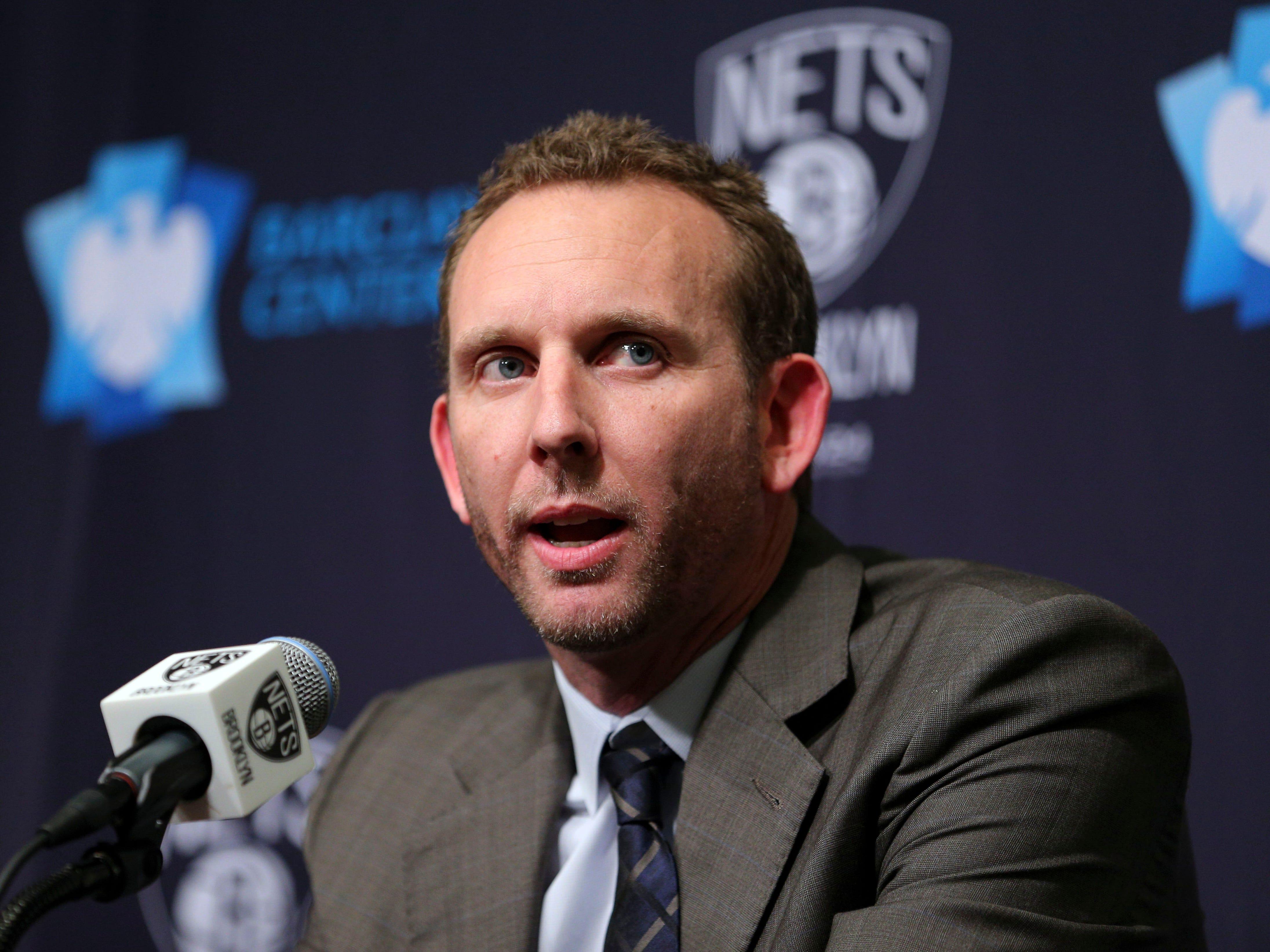 Nets GM Sean Marks fined, suspended for entering refs' locker room
