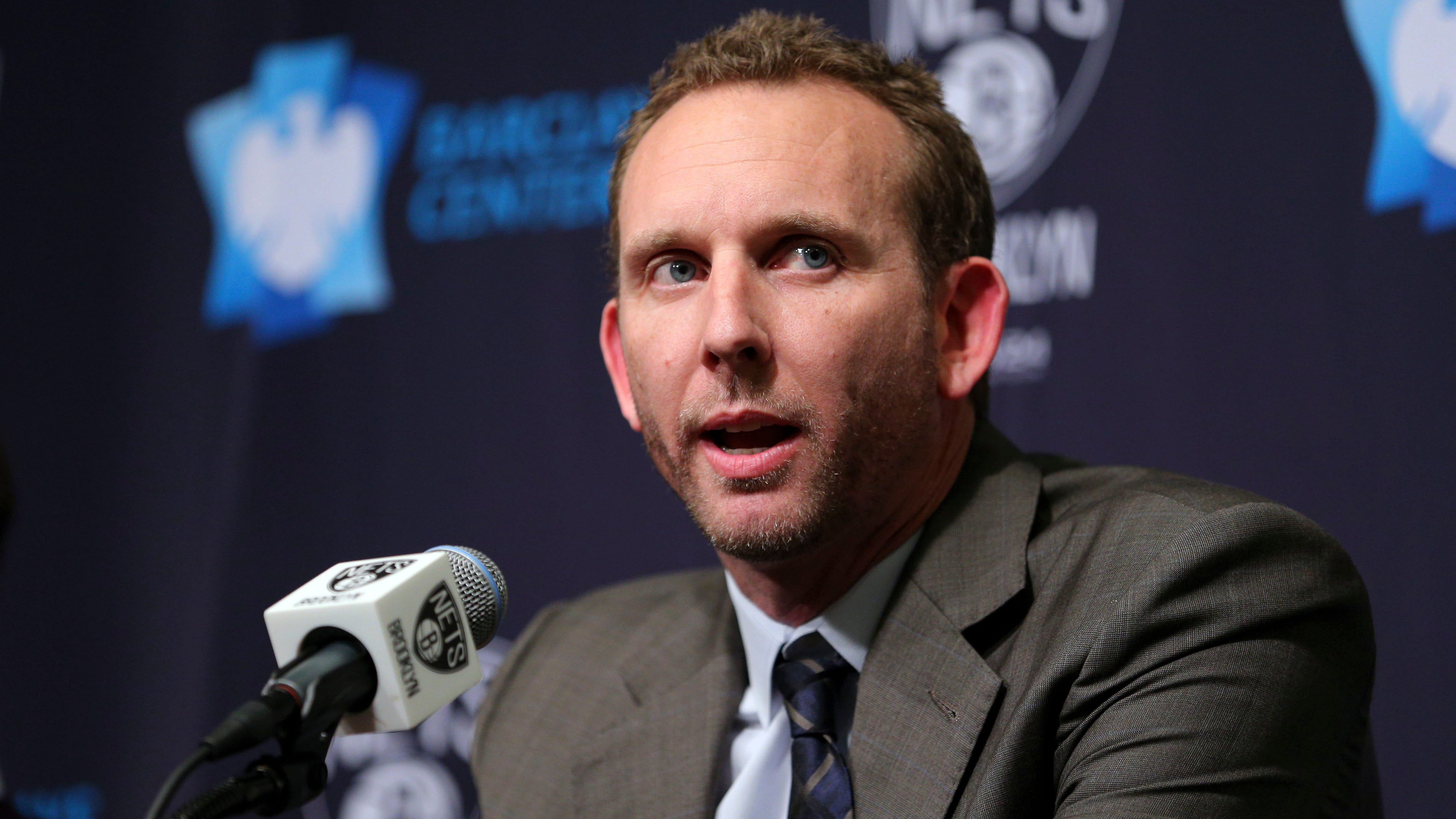 Nets new general manager Sean Marks was fined...