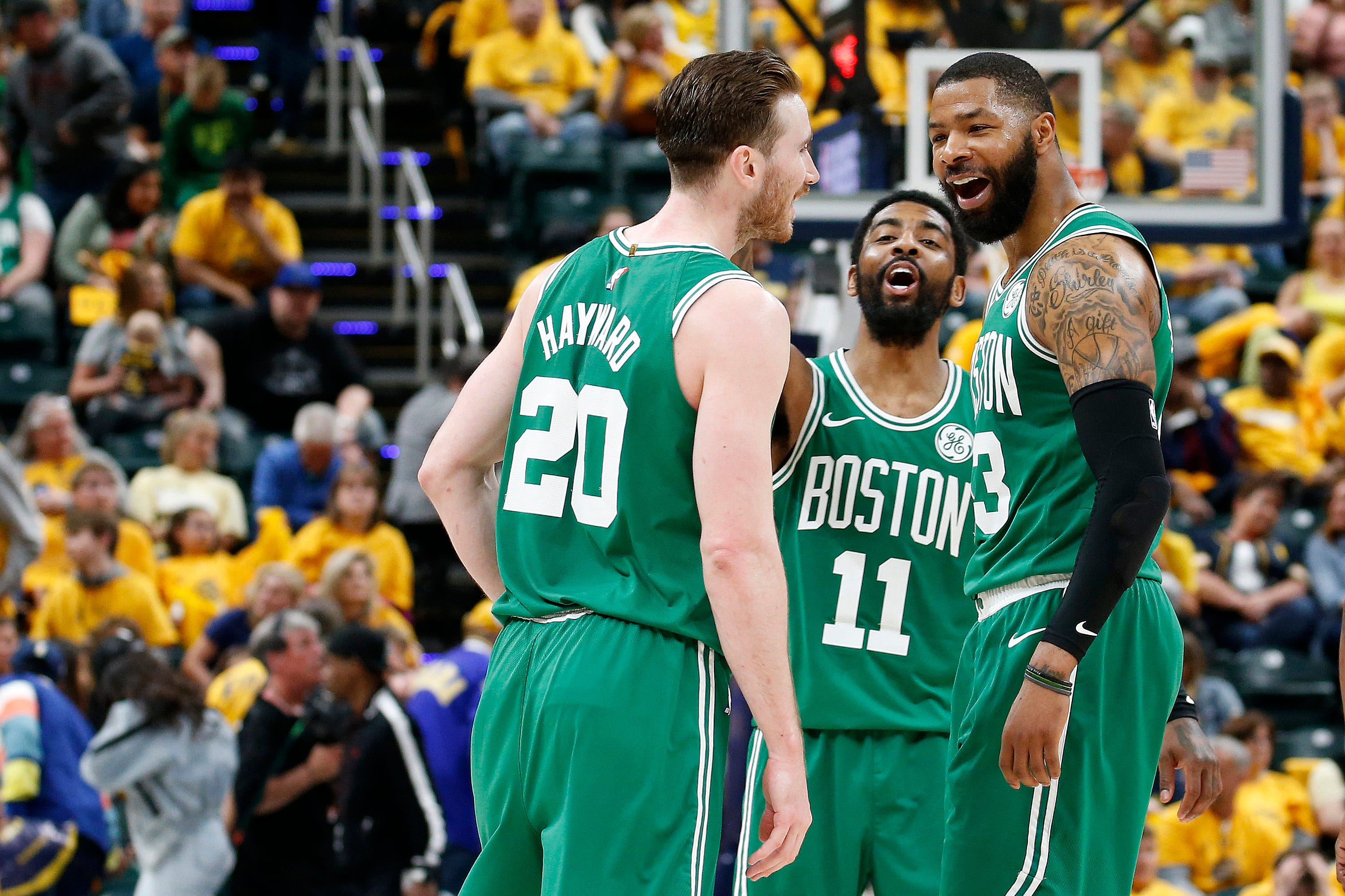 new product 4a131 2f415 NBA playoffs: Celtics finish sweep, Warriors and Raptors near wins