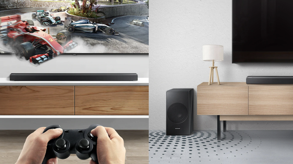 This soundbar is the perfect way to enhance your gaming and movie experience.