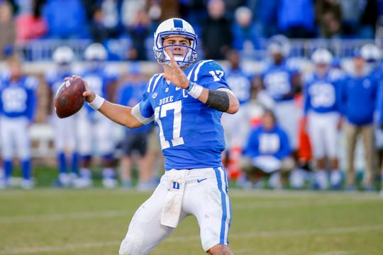6. Giants - Daniel Jones, QB, Duke