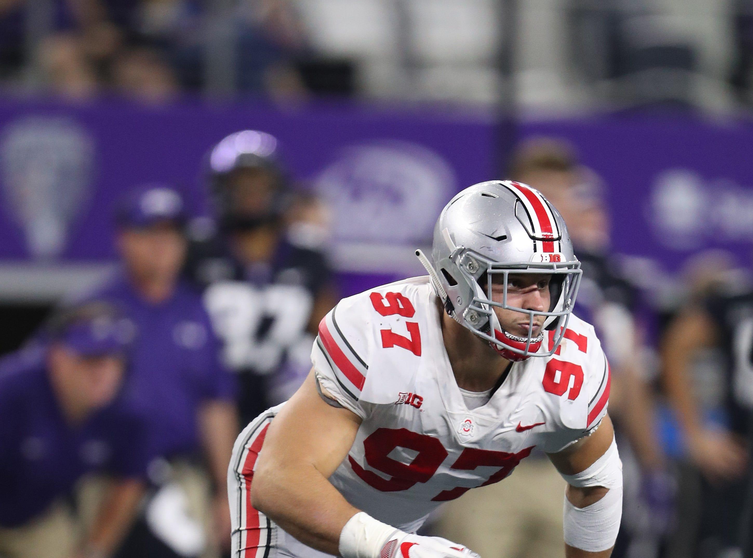 2. 49ers - Nick Bosa, DE, Ohio State