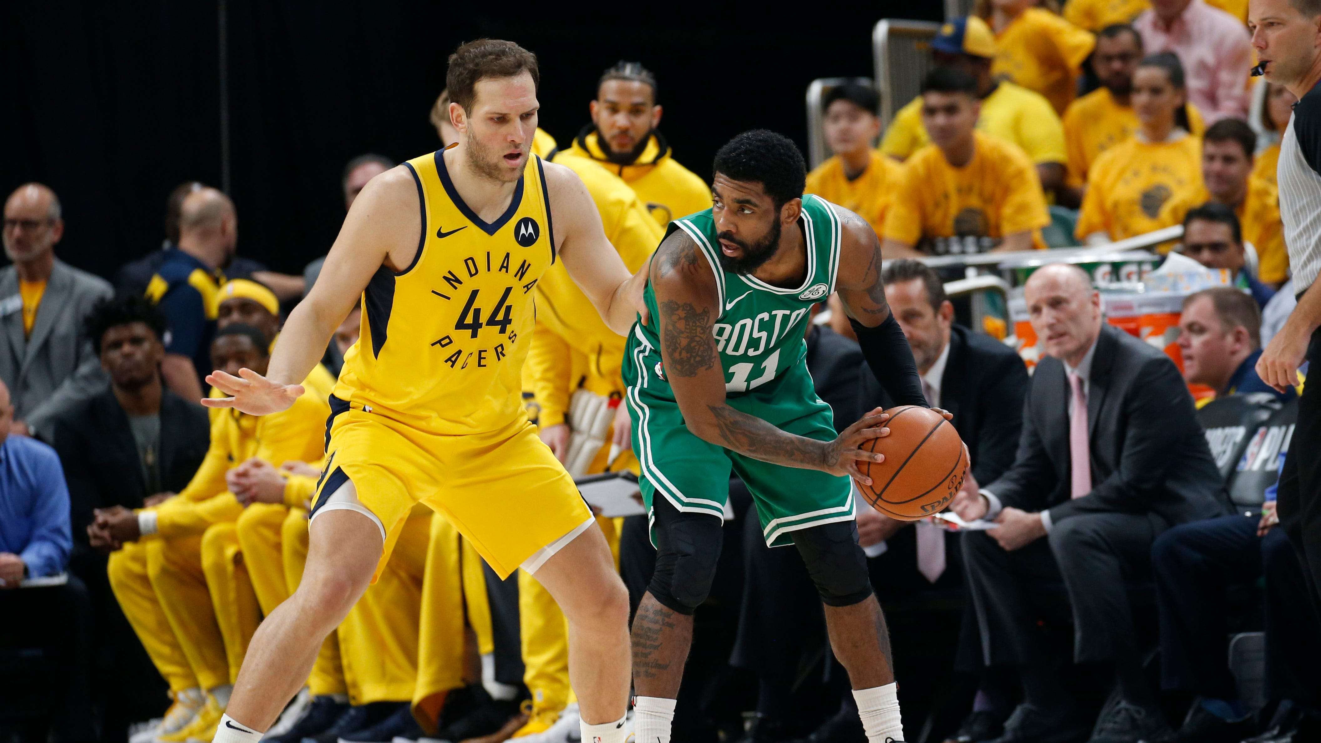 Celtics hit Pacers with 4th-quarter surge to sweep first-round playoff series