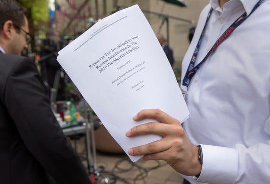 Special counsel Robert Mueller's report