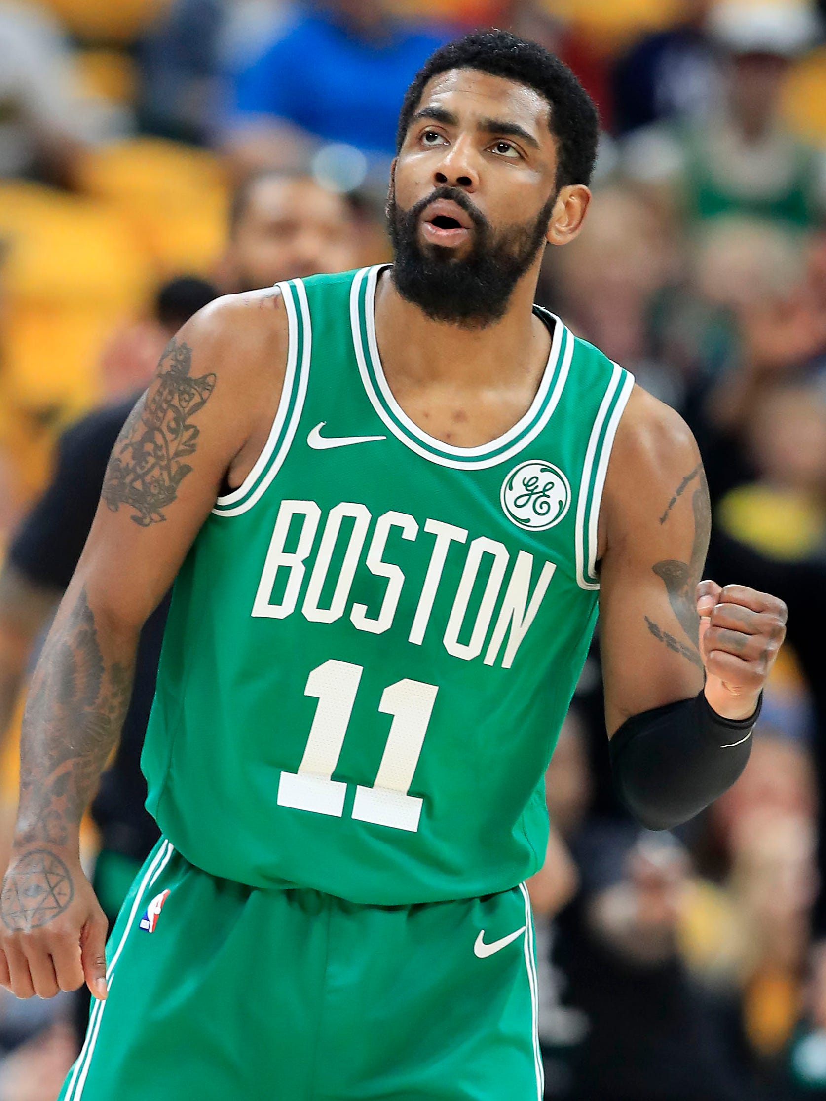 Kyrie Irving and the Celtics are moving.