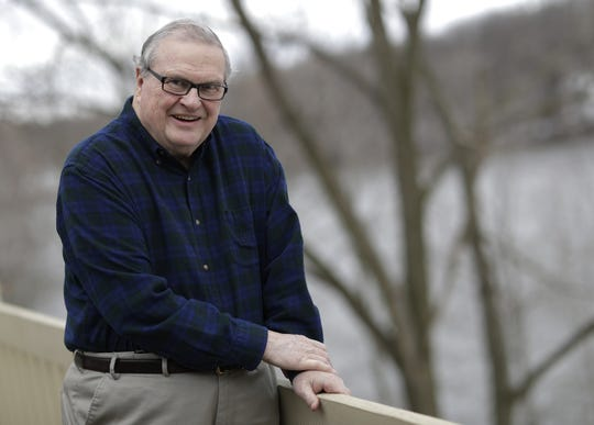 Dick Calder is this year's Paul and Elaine Groth Mentoring Award winner sponsored by the Mielke Family Foundation. He will honored at the Celebrating Volunteers event on May 1 in Appleton. Dan Powers/USA TODAY NETWORK-Wisconsin