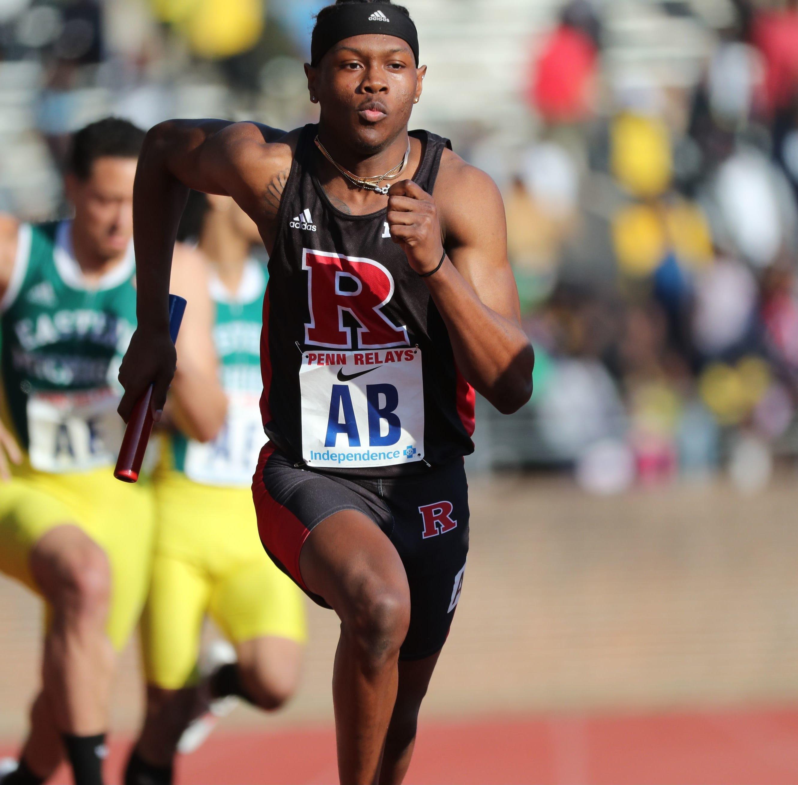 Penn Relays: Taj Burgess ready to lead record-setting Rutgers 4x400's quest for a wheel