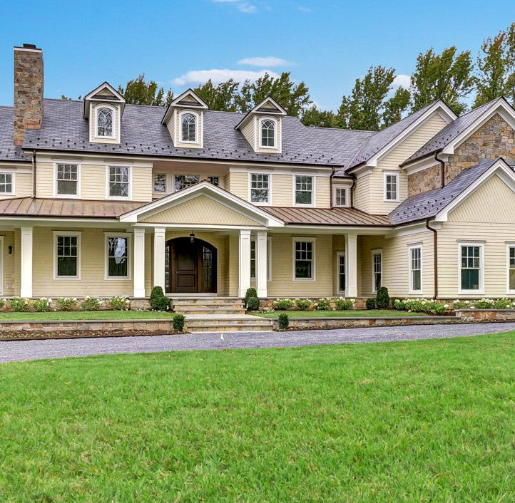 NJ homes: $3.6 million new Rumson mansion has elegant charm