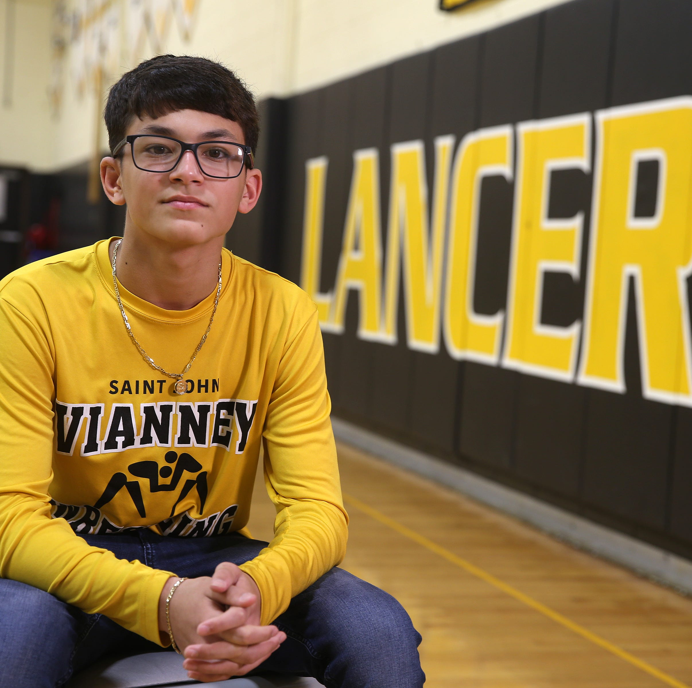St. John Vianney freshman's father died, but he wrestled on: 'I had nothing to lose. I already lost everything.'