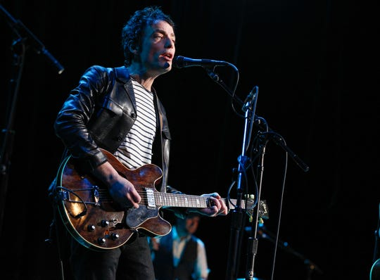 Jakob Dylan, pictured in 2013 at the Ryman Auditorium in Nashville, Tennessee.