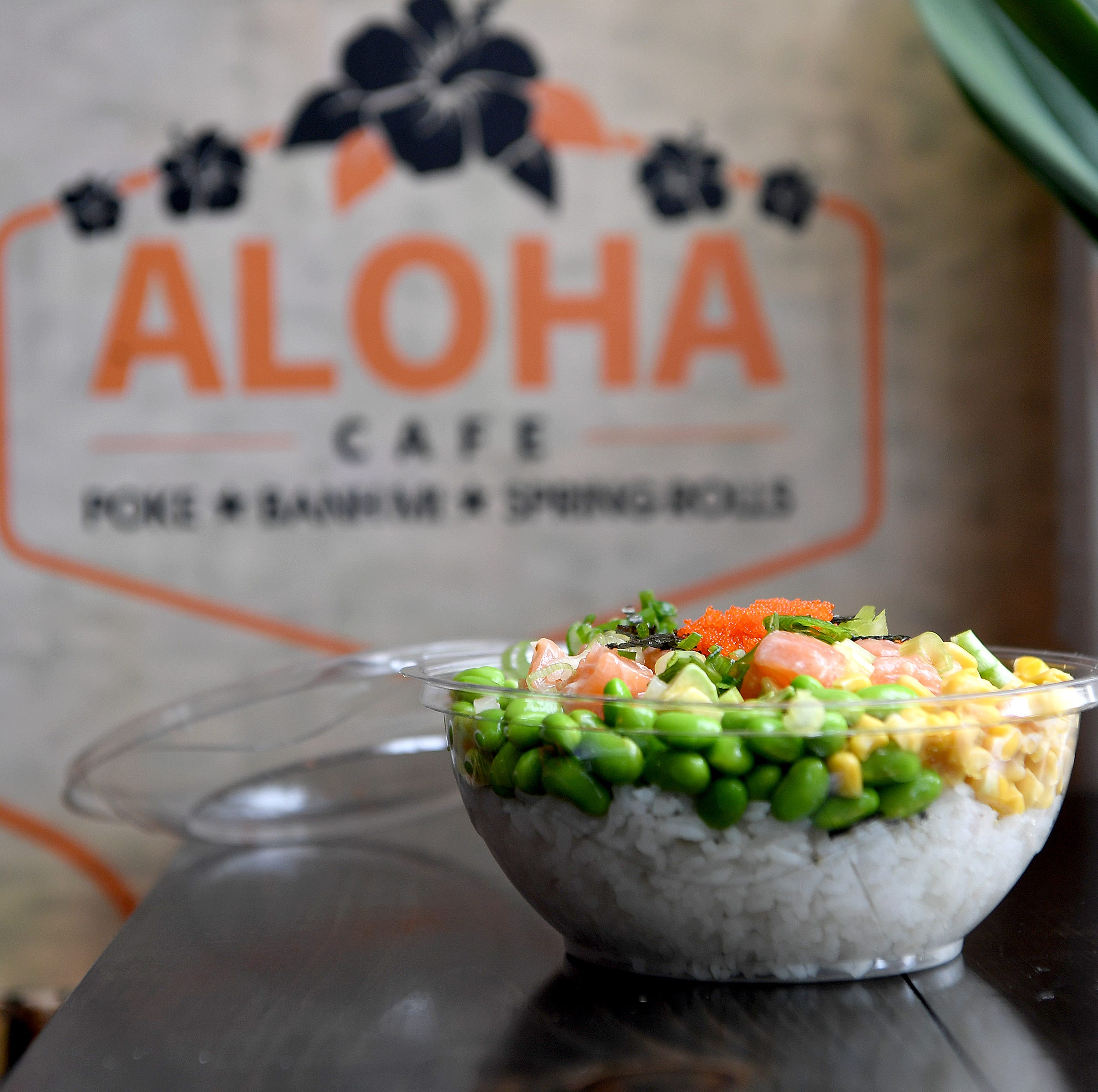 Dining review: Aloha Cafe serves poke, banh mi, in downtown Asheville