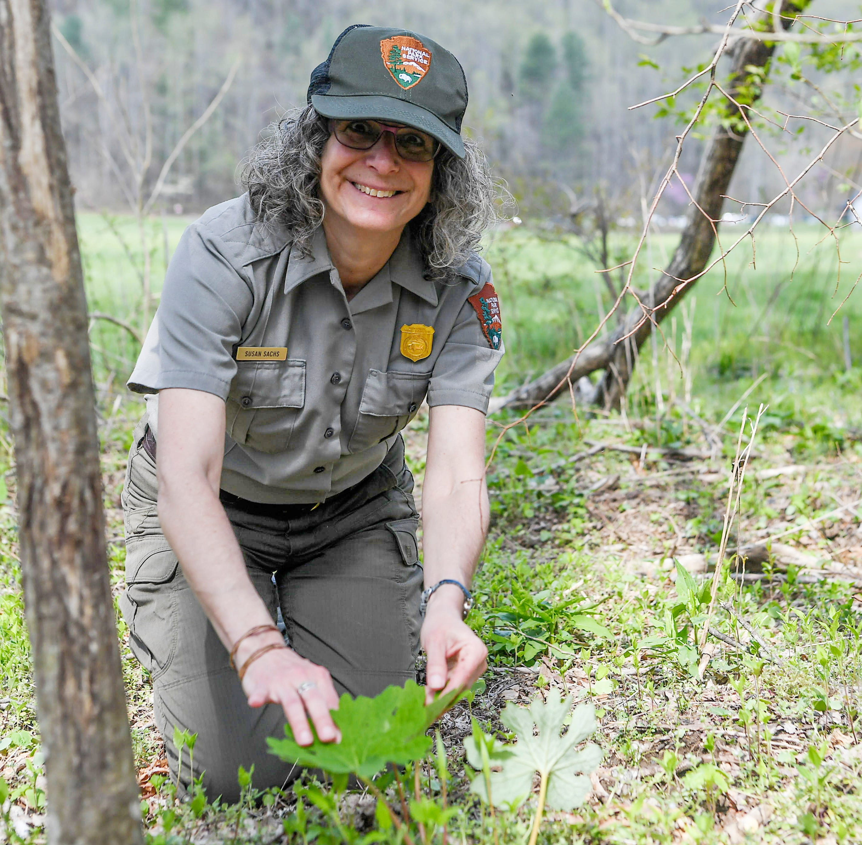 Great Smokies education ranger's 'remarkable passion' wins her national award