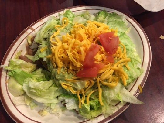 The Avacado Chalupas at Ole' Amigo's in Marshall.