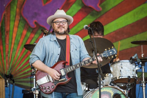 Wilco frontman Jeff Tweedy will play a solo show during the inaugural THING music and arts festival Aug. 24 and 25 at Fort Worden State Park.