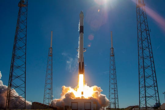 On Dec. 5, 2018, a SpaceX Falcon 9 rocket carrying a Dragon cargo capsule blasted off from Cape Canaveral Air Force Station's Launch Complex 40 on the company's 16th Commercial Resupply Services (CRS) mission to the International Space Station.