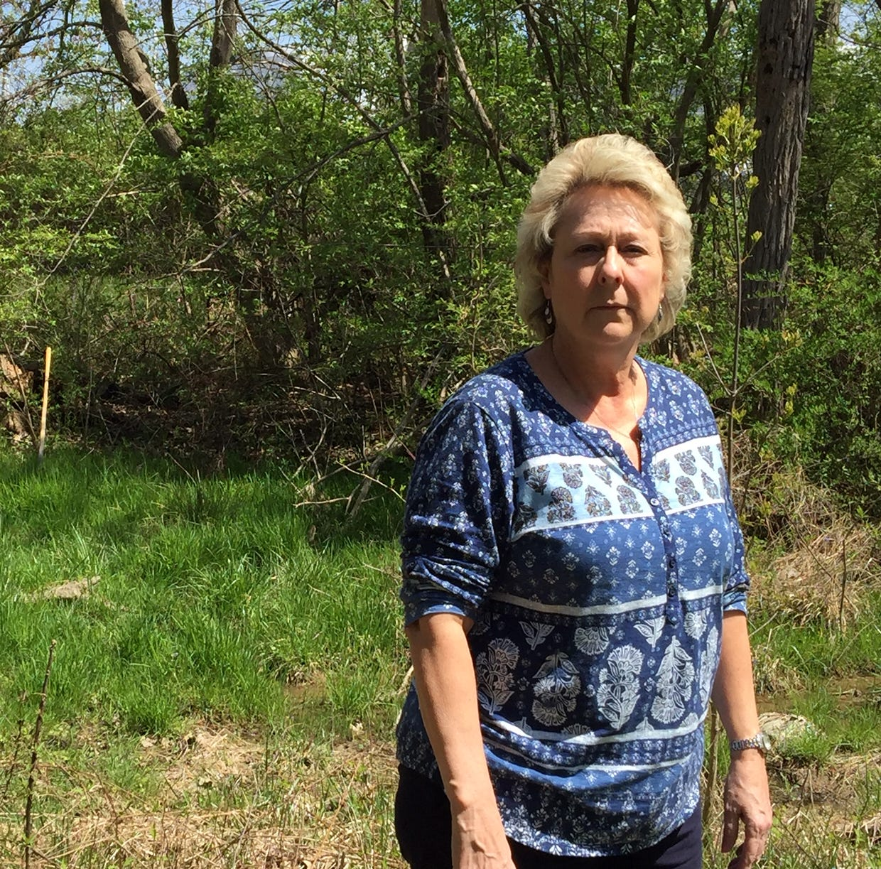 Woman stands her ground as Eastern Corridor Project threatens family business
