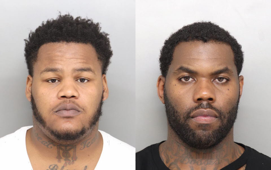 Tratez Mackey (left) and Donell Woods (right)