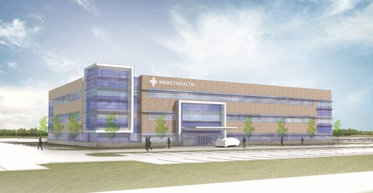 There will be an open house at the new Mercy Health medical center in Union Township May 18.