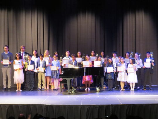 The  Wardlaw+Hartridge School recital performers