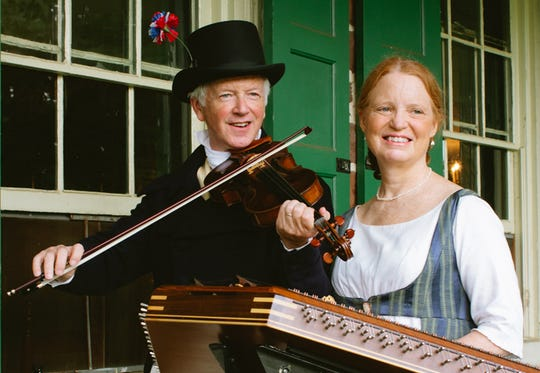 "Ridley and Anne Enslow will perform May 3 at ""History on Tap'"" at Merchants and Drovers Tavern Museum in Rahway."