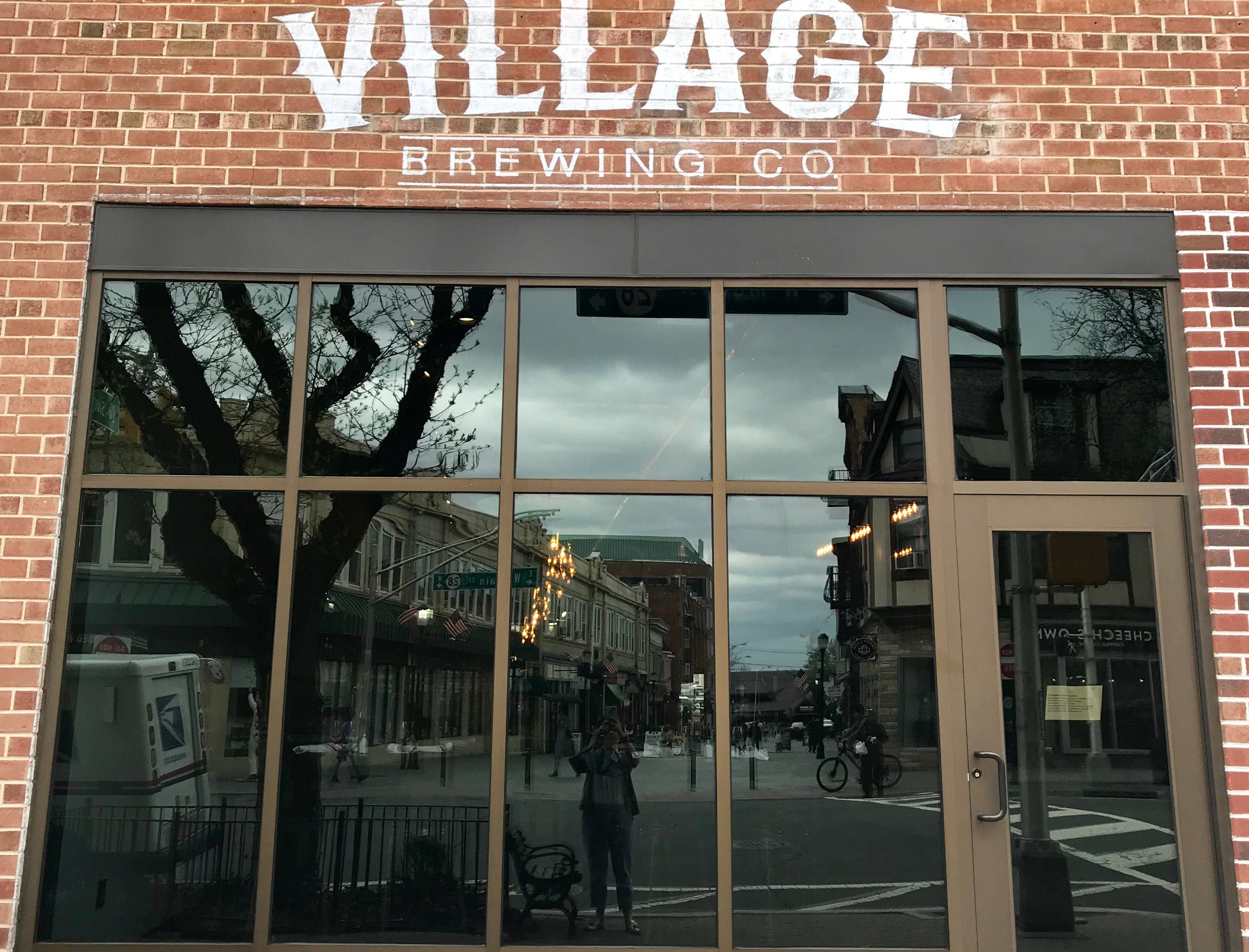 The new Village Brewing in Somerville.