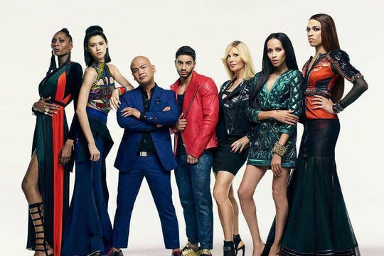 "The cast of ""Strut"""