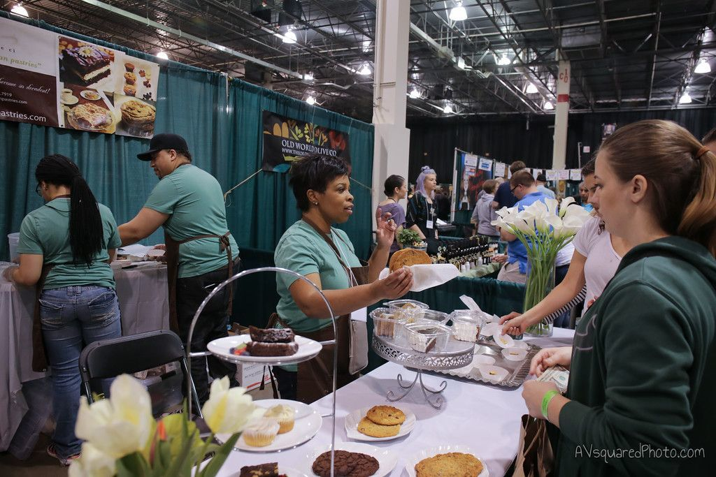 Tasty food samples are a good reason to head out to VegFest on Sunday.