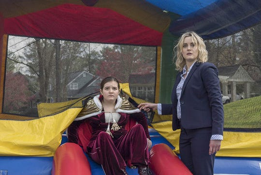 """Bryn Vale and Taylor Schilling in """"Family."""""""