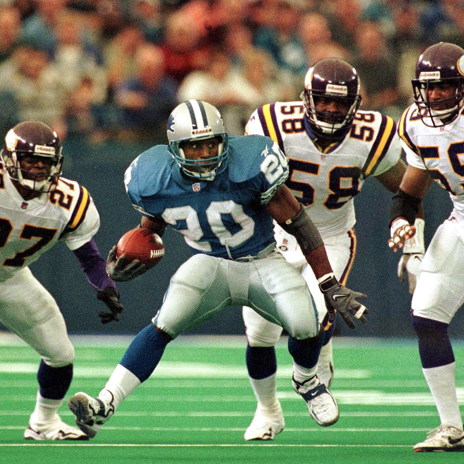 Barry Sanders edges Calvin Johnson as CBS Sports identifies top NFL draft pick for every team