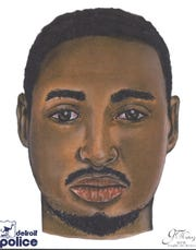 Detroit Police released a sketch of the suspect wanted in connection with the 2016 fatal shooting of Jada Rankin, 15.