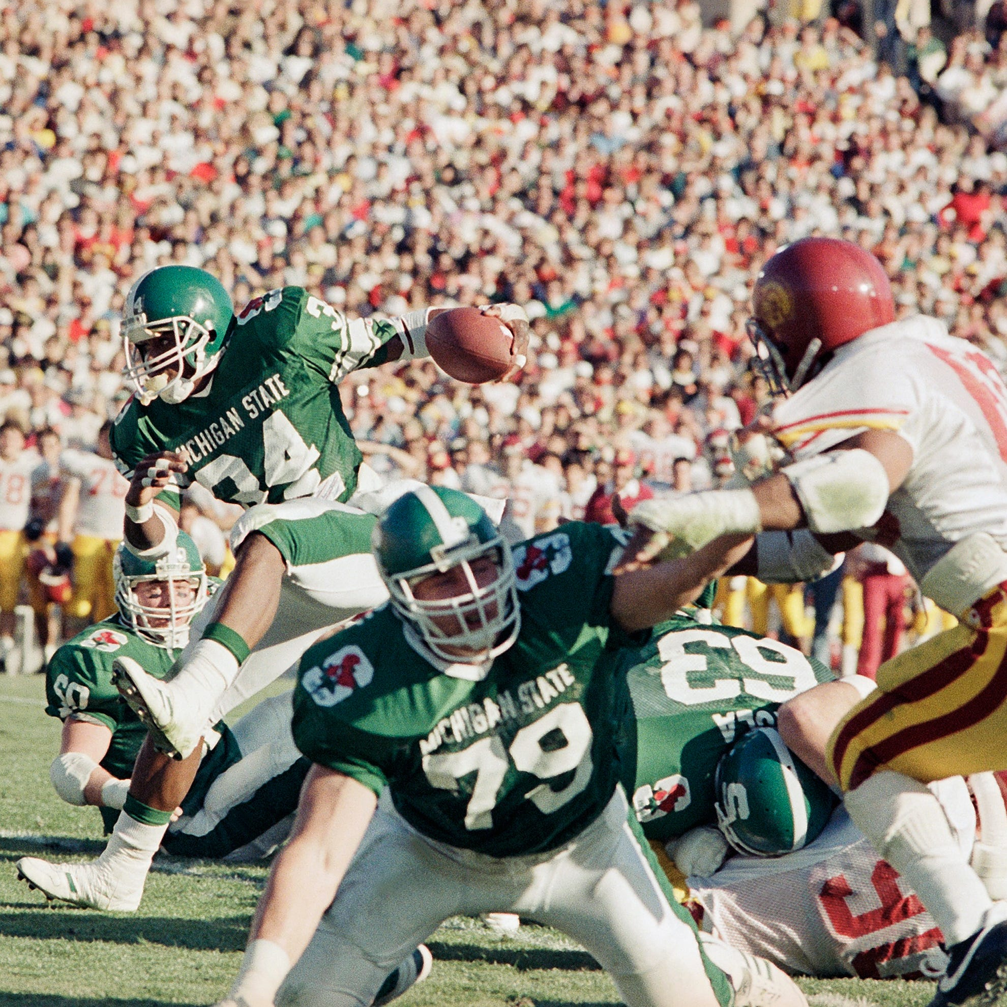Steroids link took luster off Mandarich, Michigan State's 1988 Rose Bowl victory